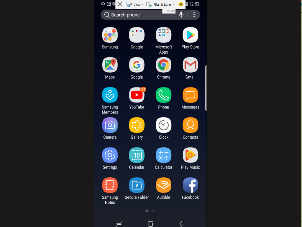Preview image of app